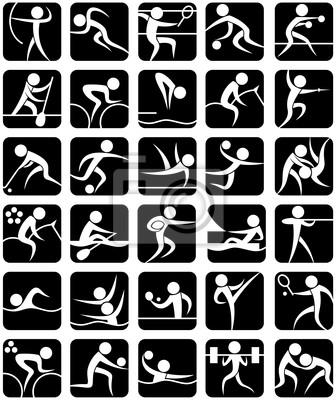 Summer Sports Symbole