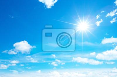 Poster sunny sky