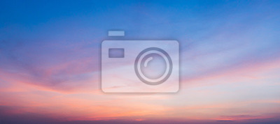 Poster sunset sky with clouds background