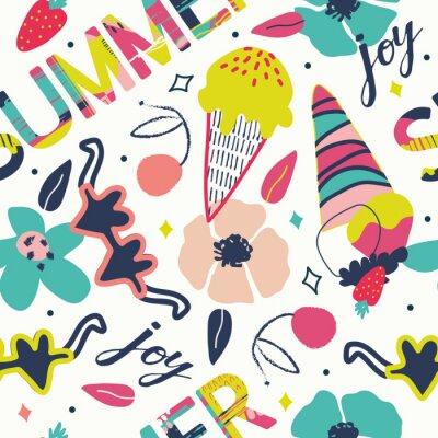 Super funky summer pattern / background.