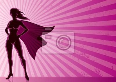 Superheldin Hintergrund