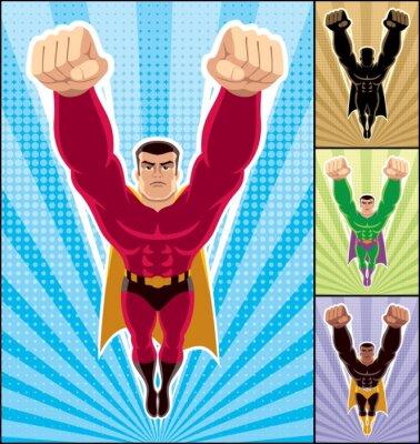 Superhero Fliegen