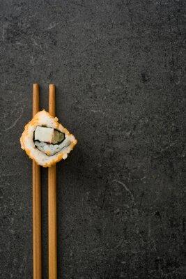 Poster Sushi. japanisches Essen