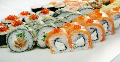 Poster Sushi-Rolle.