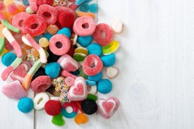 Poster Süßigkeiten