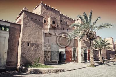 Taourirt Kasbah in Berber-Stadt Ouarzazate, Marokko