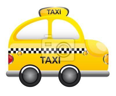 Poster Taxi Vektor