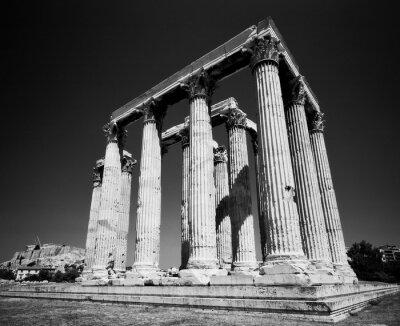 Poster Tempel des Zeus
