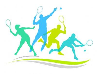 Poster Tennis - 170