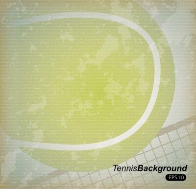 Poster Tennis-Design
