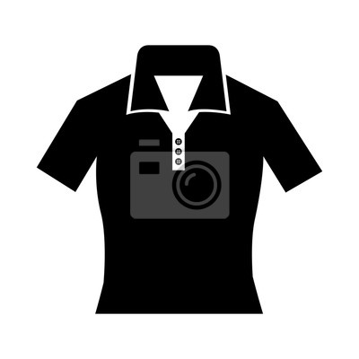 Poster tennis uniform sport equipment icon