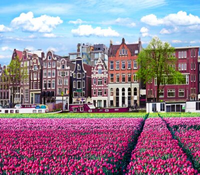 The associative landscape of the Dutch atmosphere in Amsterdam.