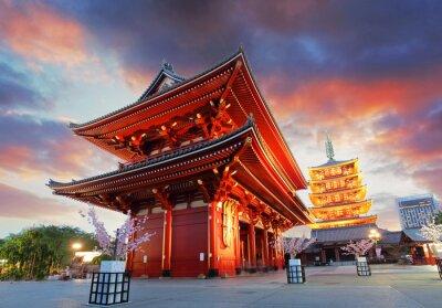 Poster Tokio - Sensoji-ji-Tempel in Asakusa, Japan