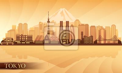 Tokyo Skyline der Stadt