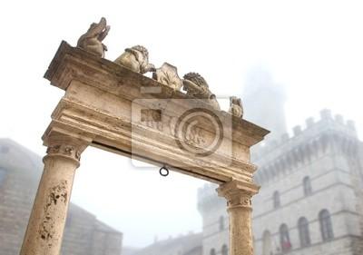 Top der auch in Piazza Grande, Montepulciano (Italien).