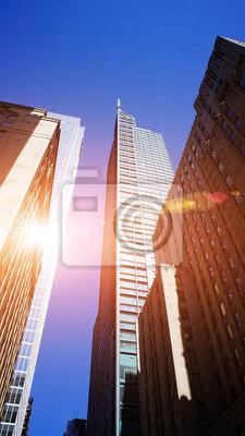 Poster Toronto Skyline im Finanzviertel