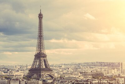 Poster Tour Eiffel in Paris