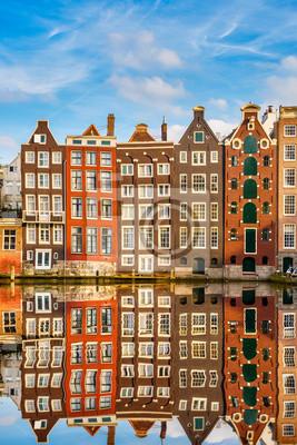 Traditionelle holländische Gebäude, Amsterdam