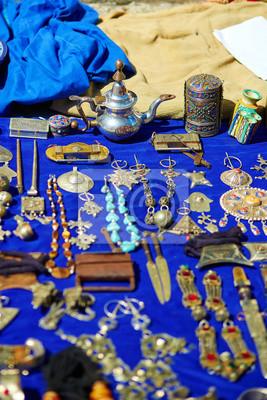 Traditioneller Markt in Chefchaouen, Marokko
