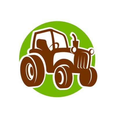 Poster traktor fermer icon