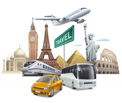 Poster Transport und Reise