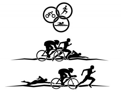 Poster Triathlon