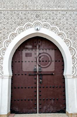 Tür eines marokkanischen Moschee