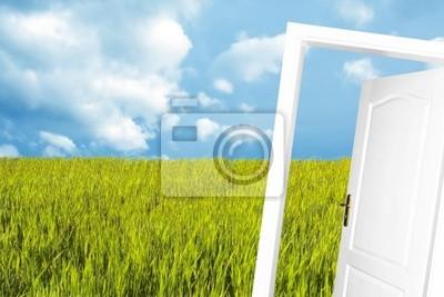 Tür in der neuen Welt