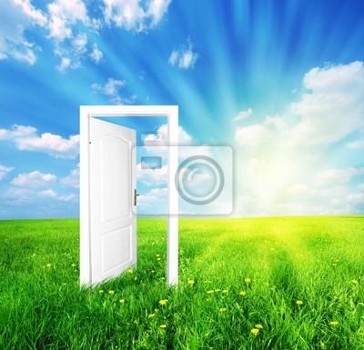 Tür zur neuen Welt