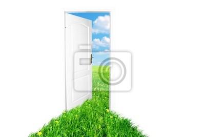 Tür zur neuen Welt . Version 2