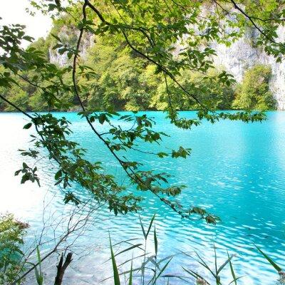 türkisfarbenen See (Kroatien)