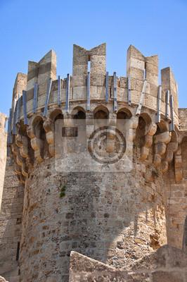 Turm der Ritter Großmeisterpalast. Rhodos.