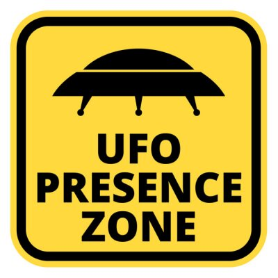 Poster UFO Schiffe