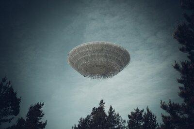 Poster Unbekanntes Flugobjekt
