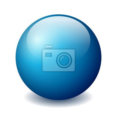 Poster Vector Ball Figur