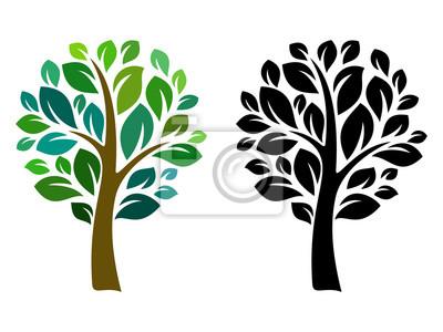 Poster Vector Baum