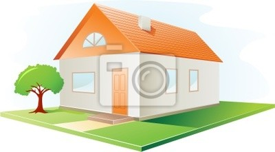 Poster vector house