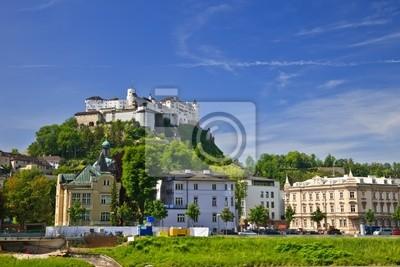 Veiw auf Festung Hohensalzburg, Salzburg, Österreich