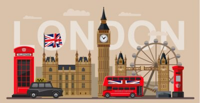 Poster Vektor großbritannien