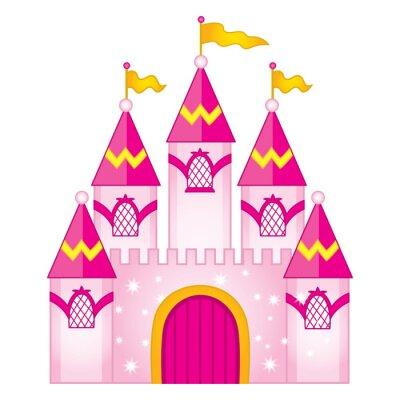 Poster Vektor magische Märchenschloss