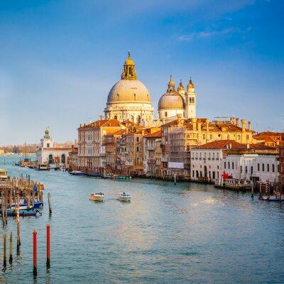 Venedig am sonnigen Abend