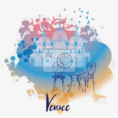 Venedig Hintergrund