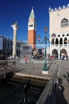 Venedig, Markusplatz mit Dogenpalast, Italien