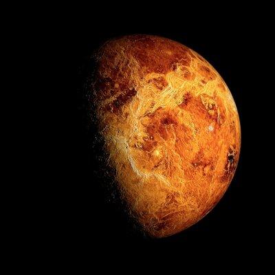 Poster Venus Elemente dieses Bildes möbliert von der NASA