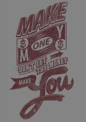 Poster Verdienen Sie Geld