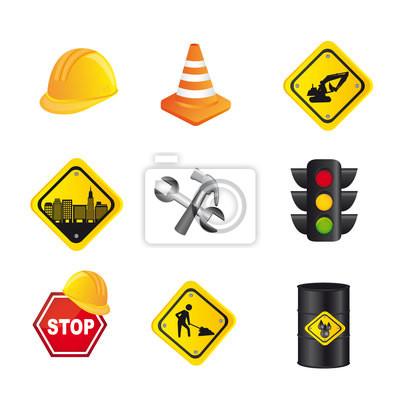 Poster Verkehrszeichen