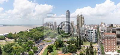 Poster Ville de Rosario en Argentine