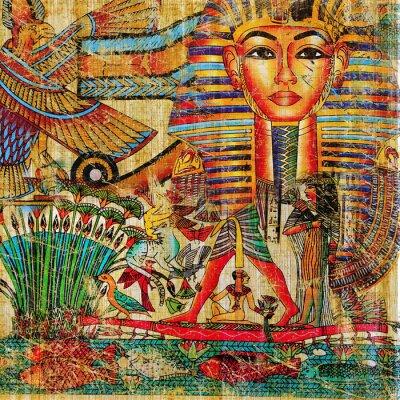vintage ägyptische Abstraktion