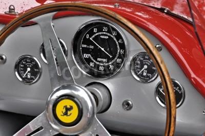 Poster Vintage Ferrari dashboard