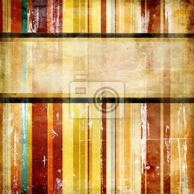 Vintage gestreiften Hintergrund mit Platz für Text